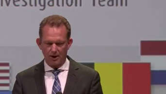 Крушение MH17. Презентация предварительного доклада иностранных экспертов. Видео