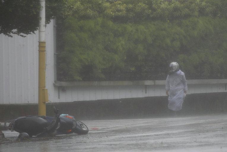 Тайфун Меги на Тайване