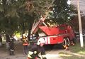 Пожар в многоэтажке Ровно