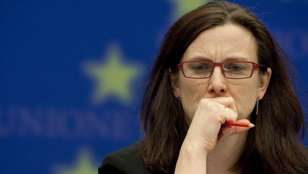 Еврокомиссар Сесилия Мальмстрем