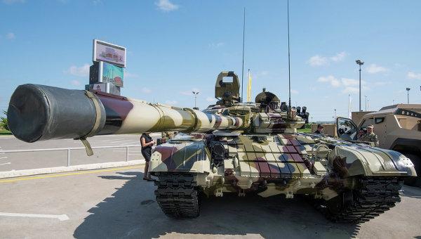 Выставка вооружений и боевой техники ADEX-2016 в Баку