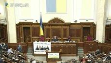 Заседание Верховной Рады 29 сентября