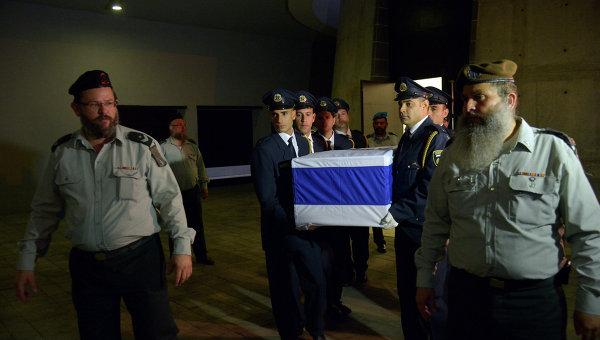 ВИерусалиме похоронили прежнего президента Израиля Шимона Переса