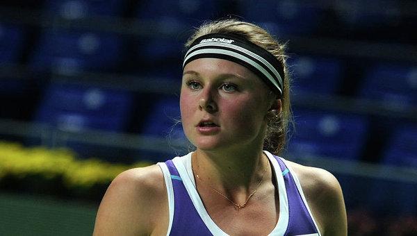 Козлова 2-ой раз вкарьере сыграет вполуфинале турнира WTA