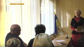 В Полтаве судья подрался с блогером