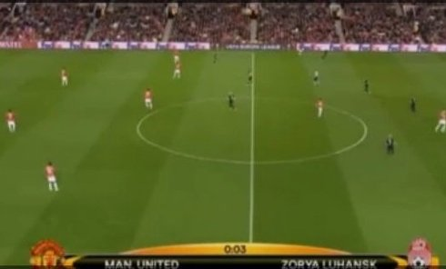 Матч Манчестер Юнайтед - Заря. Видео