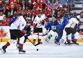 Хоккей. Кубок мира. Матч Европа - Канада
