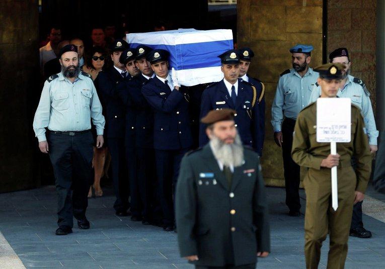 Церемония прощания с Шимоном Пересом 30 сентября 2016 года