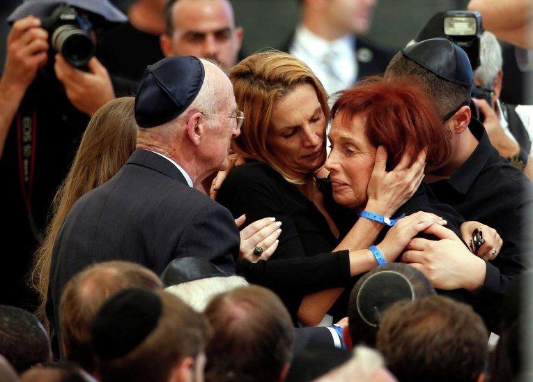 Церемония прощания с Шимоном Пересом. Дочь экс-президента Цвия