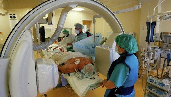 Обследование пациента в больнице