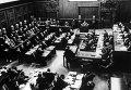 Нюрнбергский процесс. Заседание Международного военного трибунала