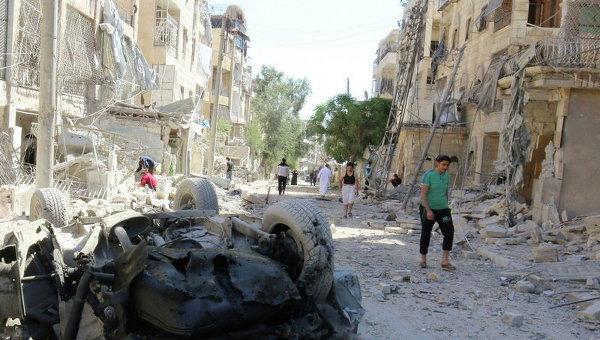Ситуация в сирийском Алеппо