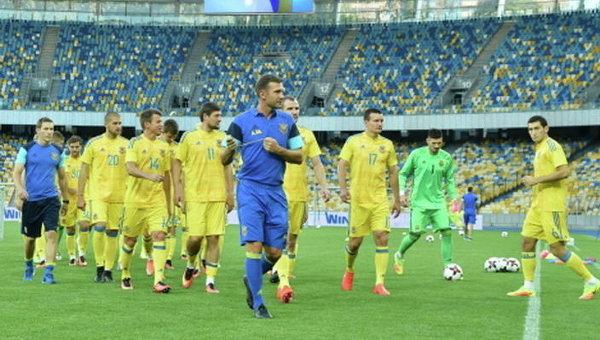 Сборная Украины сыграет сЯпонией