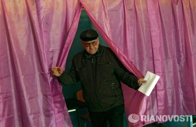 Первый этап праймериз в Донецке