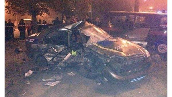 Двое полицейских погибли вДТП вБелой Церкви