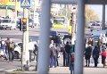 ДТП с участием патрульных полицейских в Кременчуге