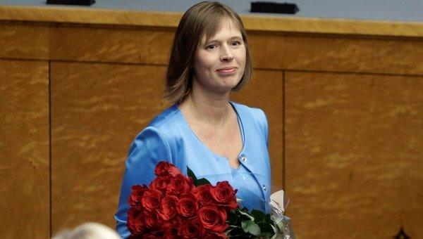 Президентом Эстонии впервый раз вистории страны стала женщина