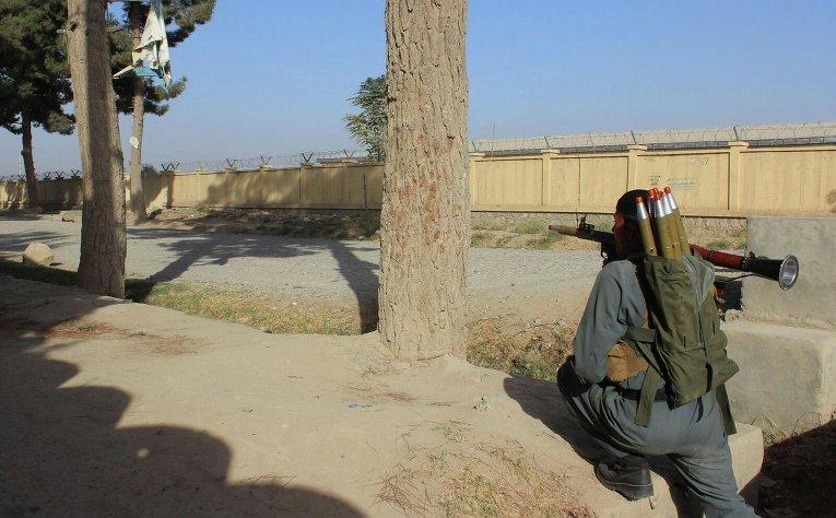 Талибы начали наступление наафганский город Кундуз