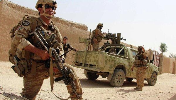 Морская пехота США в провинции Гильменд на юге Афганистана. Архивное фото