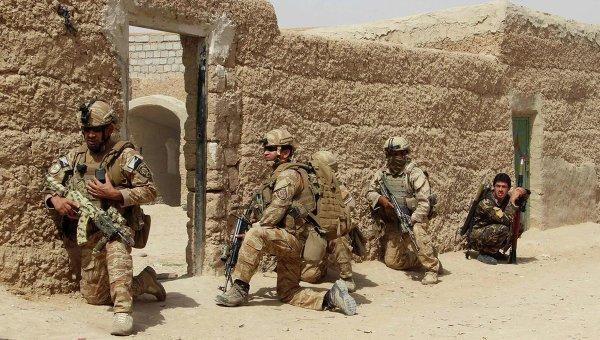 Военные ВС США на юге Афганистана. Архивное фото