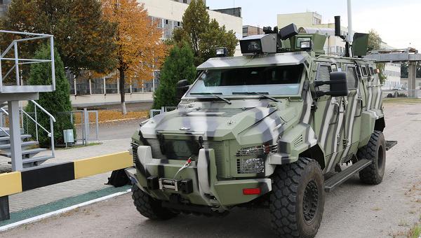 Беспилотный автомобиль КрАЗ