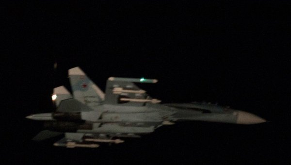 Су-27 летел строго над нейтральными водами Финского залива— МинобороныРФ