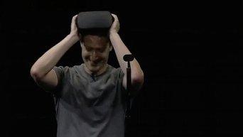 Цукерберг представил шлем виртуальной реальности, не требующий связи с ПК. Видео