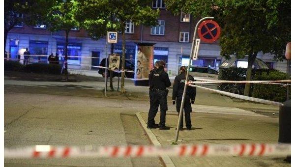 Четыре человека ранены в результате стрельбы в Копенгагене