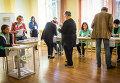 Парламентские выборы в Грузии. Архивное фото