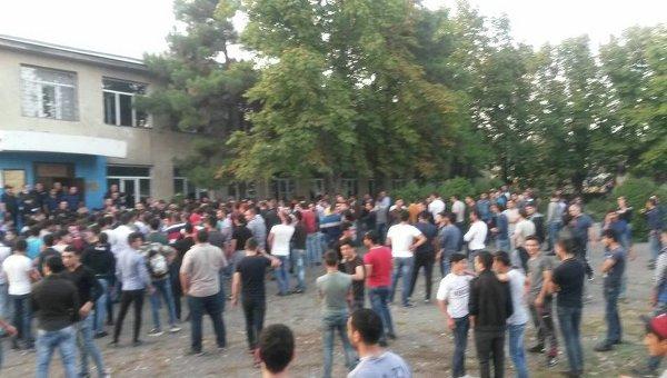 Столкновения в Грузии во время парламентских выборов