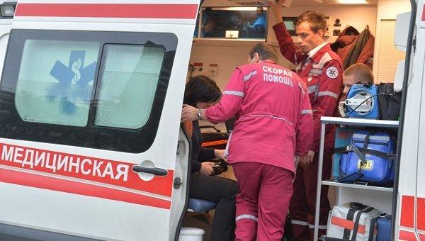 Неизвестные сбензопилой и тесаком напали на гостей ТЦвМинске