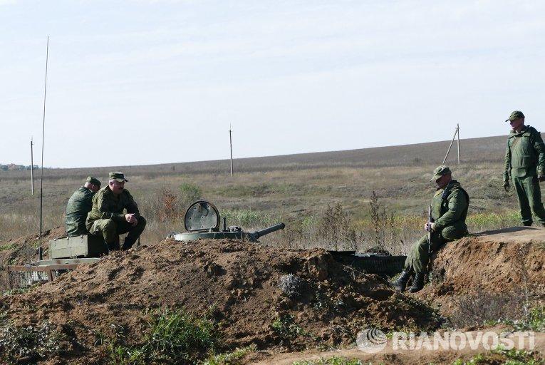 Разведение сил в районе села Петровское в Донецкой области