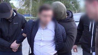 Задержание на взятке судьи из Днепра. Видео