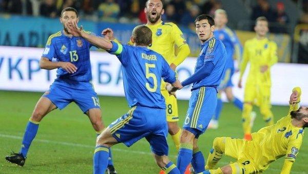 Матч Украина-Косово