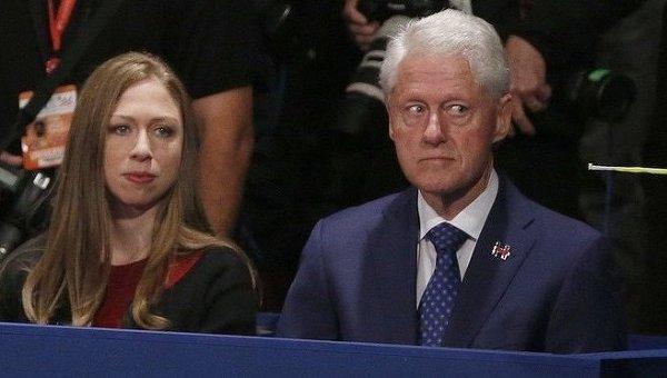 Билл Клинтон на дебатах