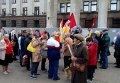 Потасовка активистов антимайдана с Правым сектором произошла на митинге в Одессе