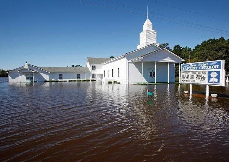 НаФлориду обвалился циклон «Мэтью»