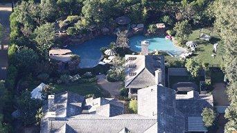 Джоли после развода арендовала роскошный особняк