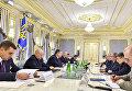Встреча Петра Порошенко и Александра Турчинова с Павлом Солохом