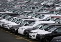 Новые автомобили Land Rover. Архивное фото
