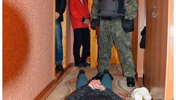 Задержание преступника в Волынской области