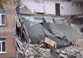 Обрушение школы в Василькове вблизи Киева. Видео