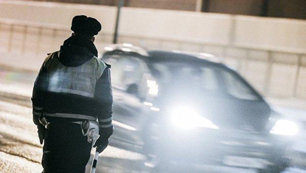 Российский полицейский