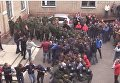 Сопротивление миссии ОБСЕ в Донецке. Видео