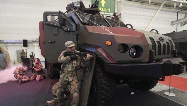 Международная выставка Оружие и безопасность