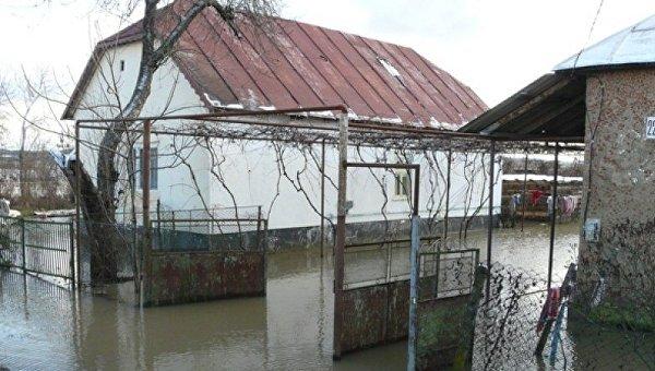 Подтопления в Ренийском районе Одесской области в результате непогоды