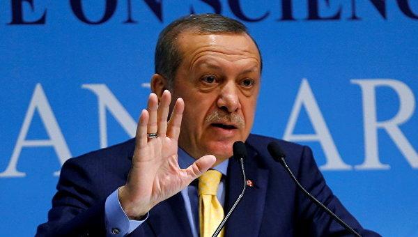 Президент Турции Тайип Эрдоган