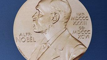 Портрет шведского изобретателя и ученого Альфреда Нобеля