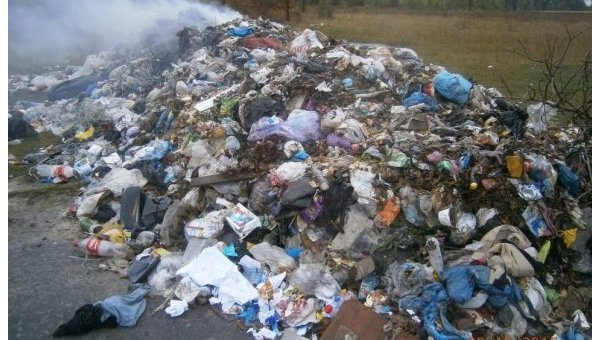Львовский мусор в Хмельницкой области