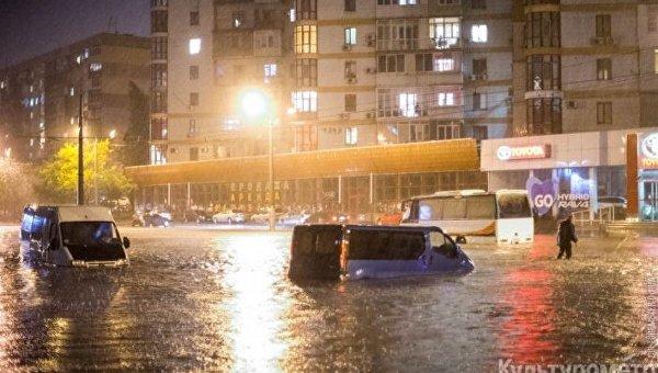 Стихия в Одессе